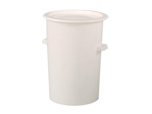 Tonne aus Kunststoff 110 Liter - heavy duty - Weiß