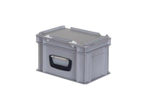 Kunststoffkoffer - 300x200xH190mm - Grau