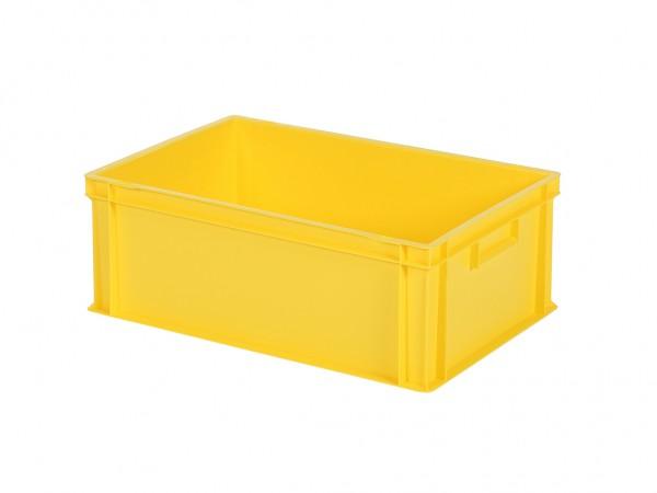Stapelbehälter - 600x400xH220mm - Gelb