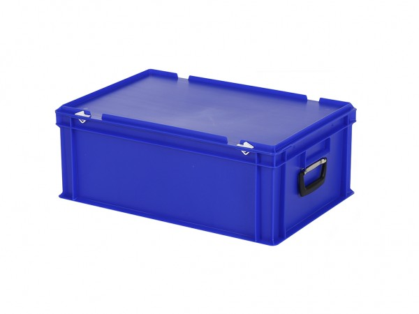 Kunststoffkoffer - 600x400xH235mm - Blau