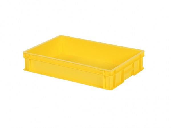 Stapelbehälter - 600x400xH120mm - Gelb