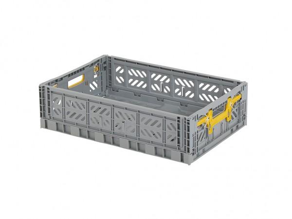 MULTIWAY Faltbehälter - 600x400xH156 mm - Grau