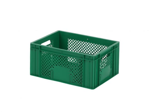 Stapelbehälter 400x300xH193mm - durchbrochen - Grün