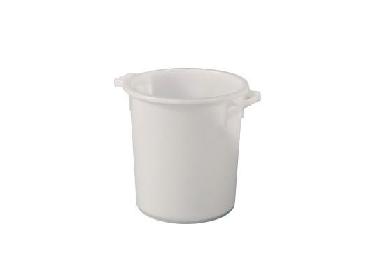 Tonne aus Kunststoff 40 Liter - heavy duty - Weiß