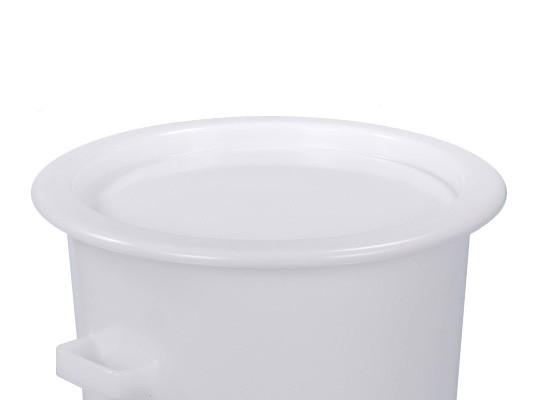 Aufliegedeckel - Weiss - für Tonnen 75 und 110 Liter
