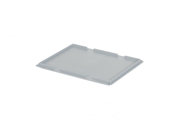 Aufliegedeckel 400x300mm - Grau