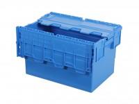 Distributionsbehälter - Mehrwegbehälter - 600x400xH365mm - Blau 30.635.D1