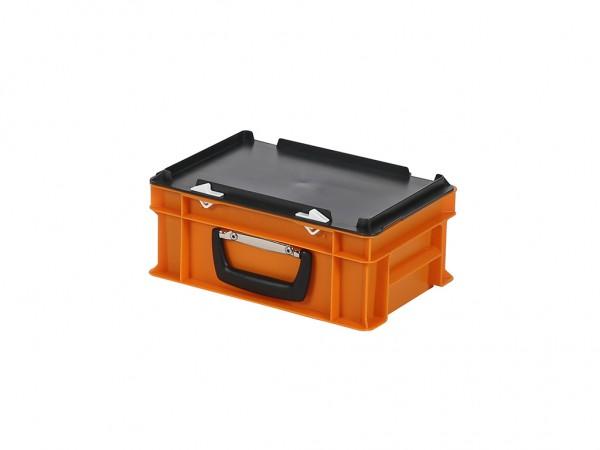 Kunststoffkoffer - 300x200xH133mm - Orange