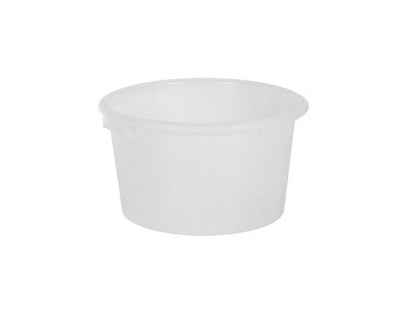 Bottich aus Kunststoff 65 Liter - heavy duty - Weiß