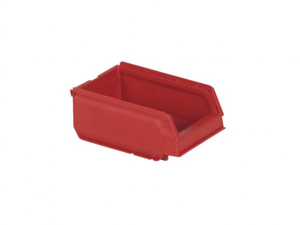 Sichtlagerkasten Kunststoff - 170x105xH75mm - Rot
