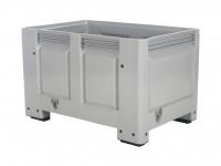 Kunststoff Palettenbox - 1200x800mm - auf 4 Füßen - Grau 4403.100.554