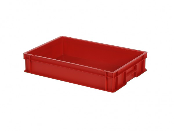 Stapelbehälter - 600x400xH120mm - Rot