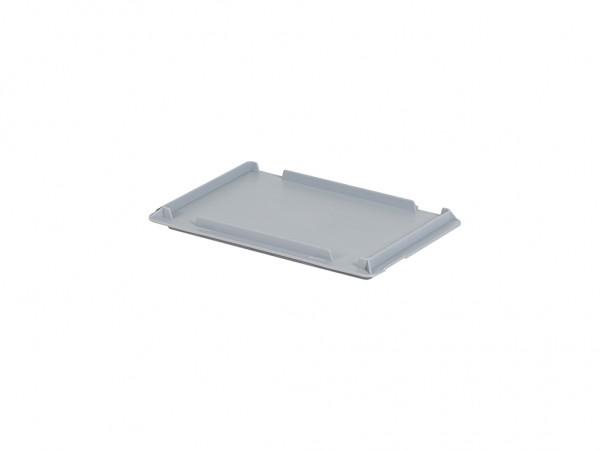 Scharnierdeckel 300x200mm - Grau