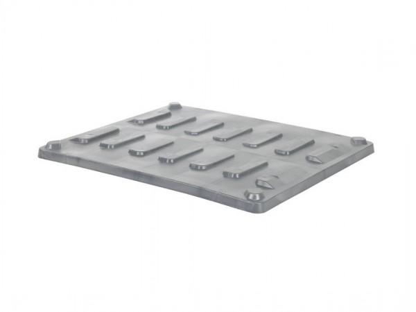 Aufliegedeckel 1200x1000mm für CB3 Palettenboxen - Grau