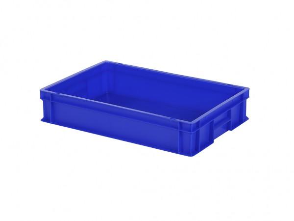 Stapelbehälter - 600x400xH120mm - Blau