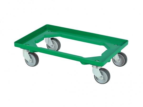 Transportroller - Rollwagen - 600x400mm - Grün