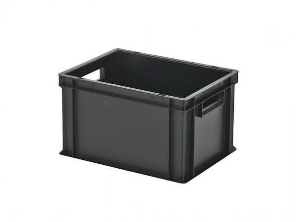 Stapelbehälter - Tellerbehälter - 400x300xH236mm - Schwarz