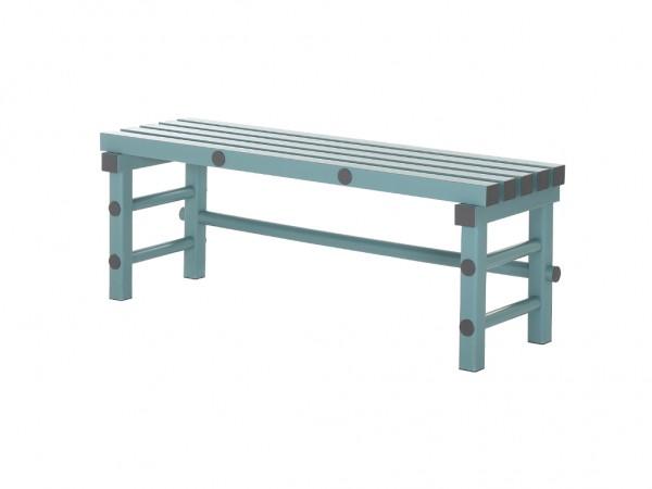 Sitzbank aus Kunststoff - 1200x400xH450mm