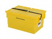 Mehrweg Sicherheitsbehälter für Lithium-Ionen Akkus – 600x400xH300mm - Gelb 1311.851.626.UN