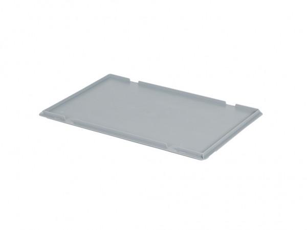 Aufliegedeckel 600x400mm - Grau