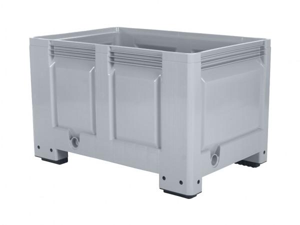 Palettenbox - 1200x800mm - 4 Füße - Grau