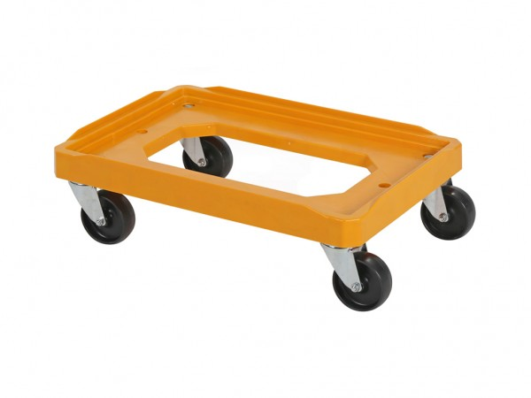 Transportroller - Rollwagen - 600x400mm - Orange