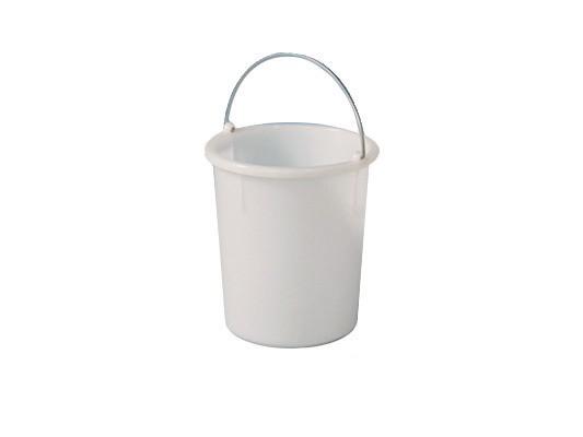 Eimer aus Kunststoff 30 Liter - heavy duty - Weiß