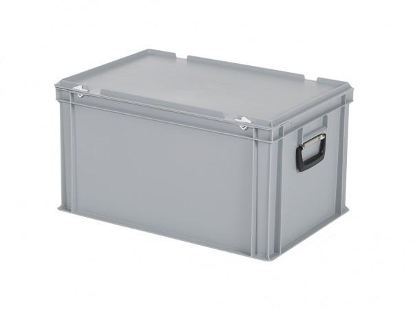 Kunststoffkoffer - 600x400xH335mm - Grau